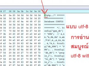 Encode file แบบ utf-8 with BOM และ utf-8 without BOM ใน Notepad++