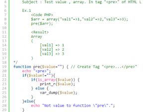 ฟังก์ชันสำหรับภาษา PHP ที่ช่วยในการตรวจสอบ value ของค่าตัวแปรในการรับส่งข้อมูล