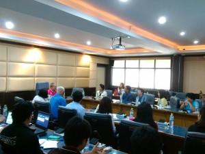 การประชุมปรึกษาหารือการพัฒนาระบบสารสนเทศปี 2560 ของวิทยาลัยพยาบาลพระจอมเกล้า จังหวัดเพชรบุรี