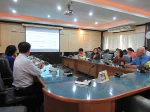 การประชุมปรึกษาหารือการพัฒนาระบบสารสนเทศปี 2560 ของสถาบันบัณฑิตศึกษาจุฬาภรณ์ ราชวิทยาลัยจุฬาภรณ์